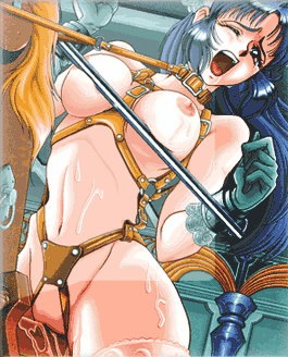 busty anime cutie gets tied and abused